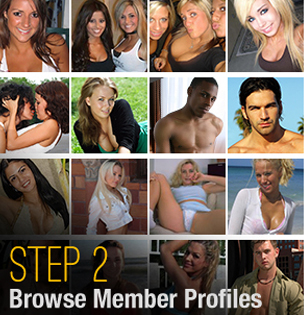 Browse member profiles